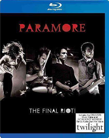 Paramore: The Final Riot on Blu-Ray Summit Entertainment DVDs & Blu-ray Discs > Blu-ray Discs