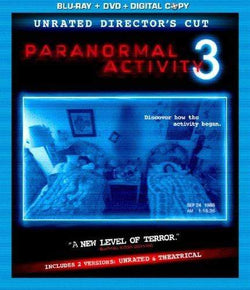 Paranormal Activity 3 on Blu-Ray Blaze DVDs