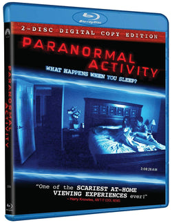 Paranormal Activity on Blu-Ray Blaze DVDs