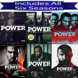 Power DVD Seasons 1-6 Set Lionsgate DVDs & Blu-ray Discs > DVDs