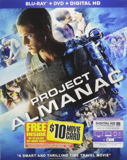 Project Almanac on Blu-Ray Blaze DVDs