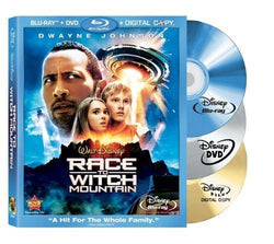 Race to Witch Mountain on Blu-Ray/DVD/Digital Copy Blaze DVDs DVDs & Blu-ray Discs > Blu-ray Discs