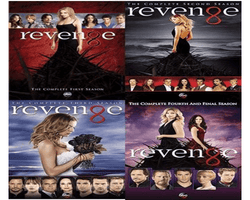 Revenge TV Series Seasons 1-4 DVD Set ABC Studios DVDs & Blu-ray Discs > DVDs
