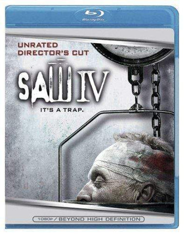Saw IV on Blu-Ray Blaze DVDs