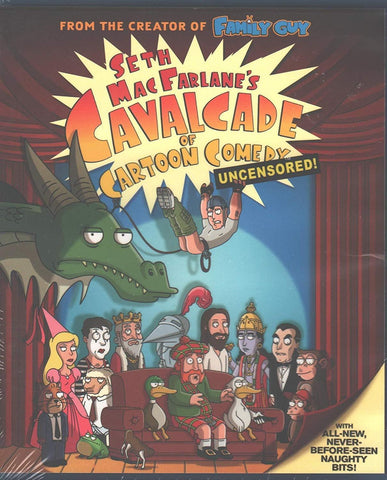 Seth MacFarlane's Cavalcade of Cartoon Comedy - Uncensored! on Blu-Ray Blaze DVDs DVDs & Blu-ray Discs > Blu-ray Discs