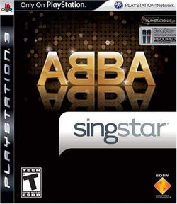 SingStar ABBA (Stand Alone) - Playstation 3 Blaze DVDs