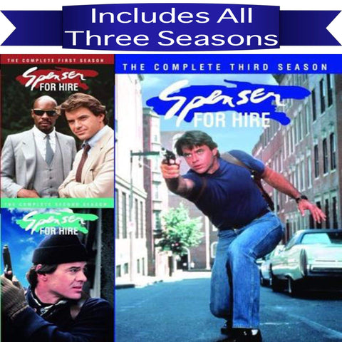 Spenser For Hire DVD Seasons 1-3 Set ABC Studios DVDs & Blu-ray Discs > DVDs