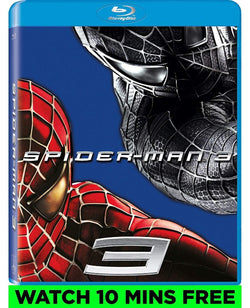 Spider-Man 3 on Blu-Ray Blaze DVDs