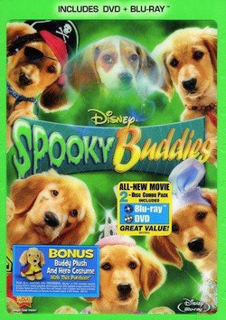 Spooky Buddies on Blu-Ray/DVD Blaze DVDs DVDs & Blu-ray Discs > Blu-ray Discs