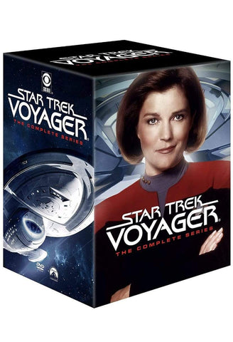 Star Trek Voyager DVD Complete Series Box Set Paramount Home Entertainment DVDs & Blu-ray Discs > DVDs > Box Sets