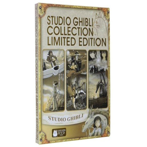 Studio Ghibli Limited Edition Collection (DVD) Ghibli DVDs & Blu-ray Discs > DVDs > Box Sets