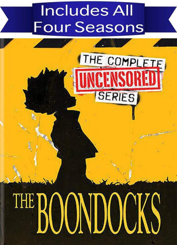 The Boondocks The Complete Series Sony DVDs & Blu-ray Discs
