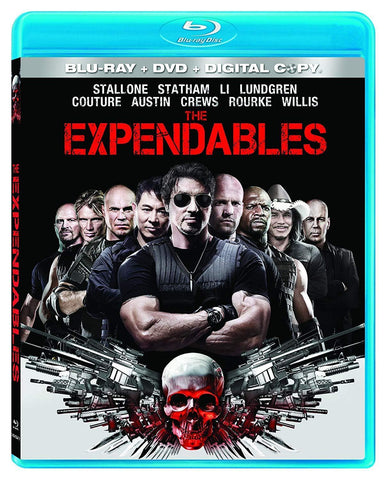 The Expendables on Blu-Ray Blaze DVDs DVDs & Blu-ray Discs > Blu-ray Discs