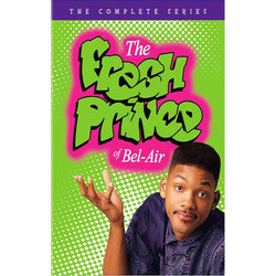 The Fresh Prince of Bel-Air DVD Complete Series Box Set Warner Brothers DVDs & Blu-ray Discs