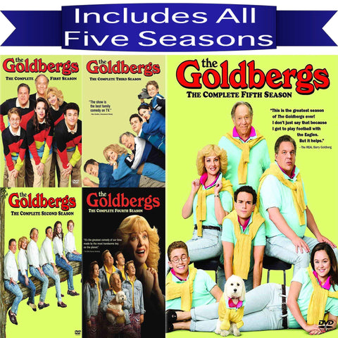 The Goldbergs DVD Seasons 1-5 Set Sony DVDs & Blu-ray Discs > DVDs