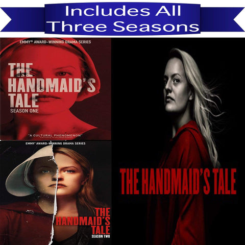 The Handmaid's Tale Seasons 1-3 DVD MGM DVDs & Blu-ray Discs