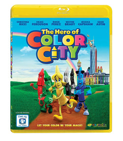 The Hero Of Color City on Blu-Ray Blaze DVDs DVDs & Blu-ray Discs > Blu-ray Discs