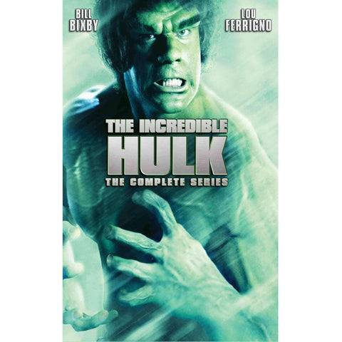 The Incredible Hulk DVD Complete Series Box Set Universal Studios DVDs & Blu-ray Discs > DVDs > Box Sets