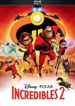 The Incredibles 2 DVD Walt Disney DVDs & Blu-ray Discs