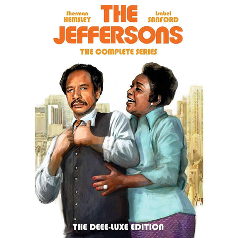 The Jeffersons DVD Complete Series Box Set Shout! Factory DVDs & Blu-ray Discs
