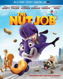 The Nut Job on Blu-Ray Blaze DVDs