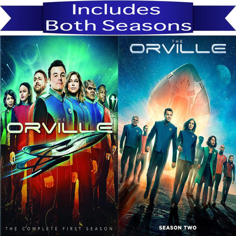 The Orville Seasons 1 & 2 on DVD Blaze DVDs