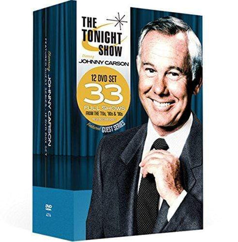 The Tonight Show starring Johnny Carson Carson Entertainment Group DVDs & Blu-ray Discs