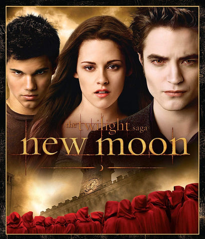 The Twilight Saga: New Moon on Blu-Ray Blaze DVDs DVDs & Blu-ray Discs > Blu-ray Discs