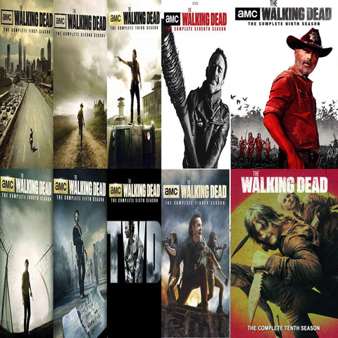 The Walking Dead TV Series Seasons 1-10 DVD Set Anchor Bay Entertainment DVDs & Blu-ray Discs > DVDs