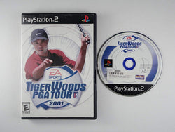Tiger Woods PGA Tour 2001 Playstation 2 Blaze DVDs