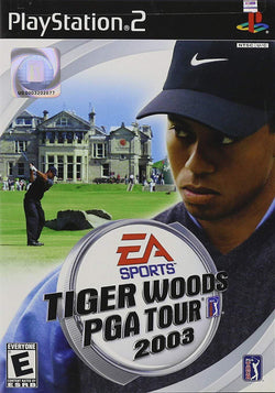 Tiger Woods PGA Tour 2003 Playstation 2 Blaze DVDs