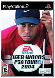Tiger Woods PGA Tour 2004 Playstation 2 Blaze DVDs