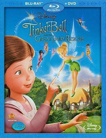 Tinker Bell and the Great Fairy Rescue on Blu-Ray & DVD Blaze DVDs DVDs & Blu-ray Discs > Blu-ray Discs