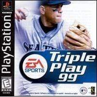 Triple Play '99 Playstation 1 Blaze DVDs