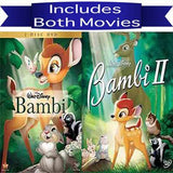 Walt Disney's Bambi 1&2 DVD Set 2 Movie Collection Walt Disney DVDs & Blu-ray Discs > DVDs