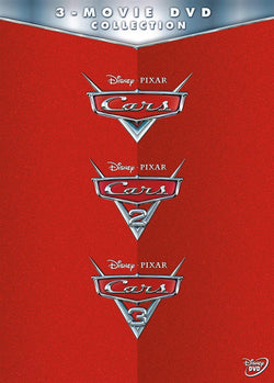 Walt Disney's Cars Trilogy DVD Set 3 Movie Collection Walt Disney DVDs & Blu-ray Discs > DVDs