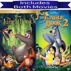 Walt Disney's Jungle Book 1&2 DVD Set 2 Movie Collection Walt Disney DVDs & Blu-ray Discs > DVDs