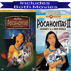 Walt Disney's Pocahontas 1&2 DVD Set 2 Movie Collection Walt Disney DVDs & Blu-ray Discs