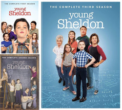 Young Sheldon Seasons 1-3 DVD Set Warner Brothers DVDs & Blu-ray Discs