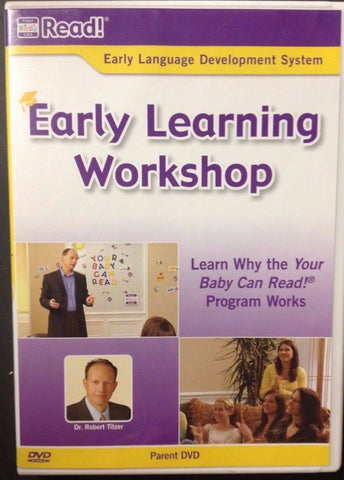 Your Baby Can Read Early Learning Workshop DVD Blaze DVDs DVDs & Blu-ray Discs > DVDs