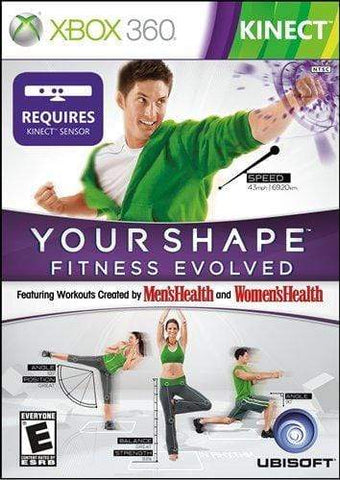 Your Shape Fitness Evolved - Xbox 360 Blaze DVDs