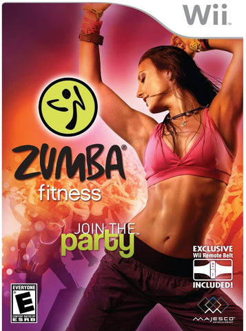 Zumba Fitness Join the Party - Nintendo Wii Blaze DVDs