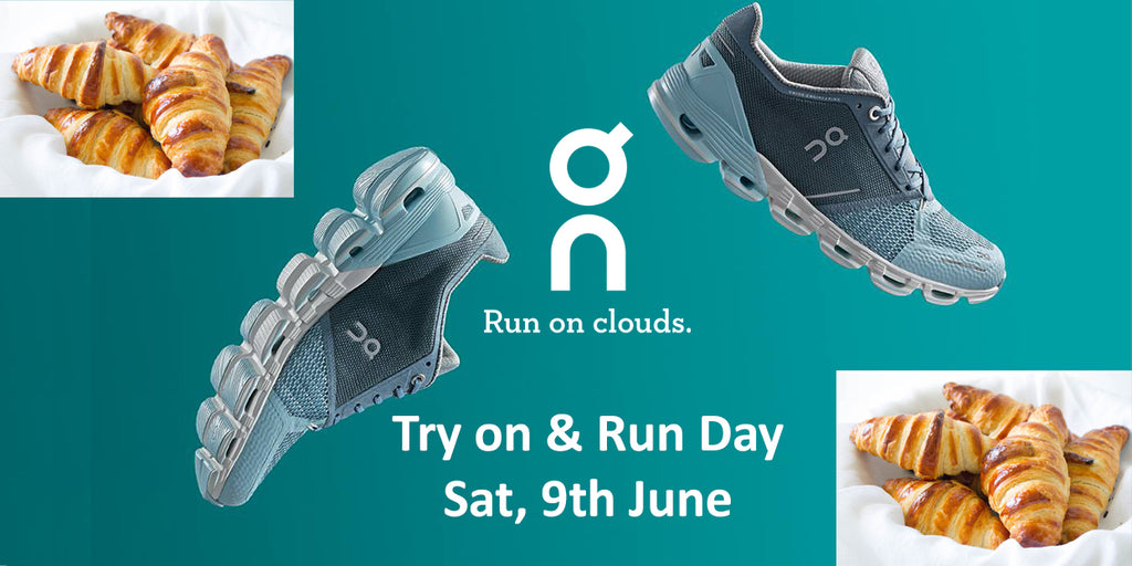 ON Running Shoes - Try On Day