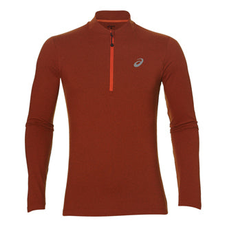 ASICS Mens Long Sleeve 1/2 Zip Jersey