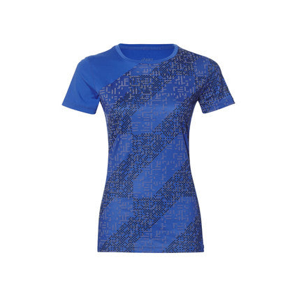 ASICS Womens Lite-Show Short Sleeve Top