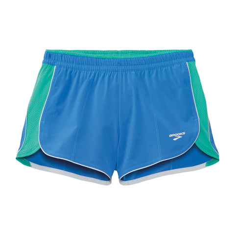 "Brooks Womens Epiphany 3.5"" Stretch Short III - SS15"