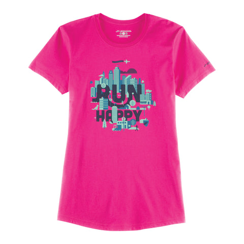 Brooks Womens Happy Place T-shirt SS16