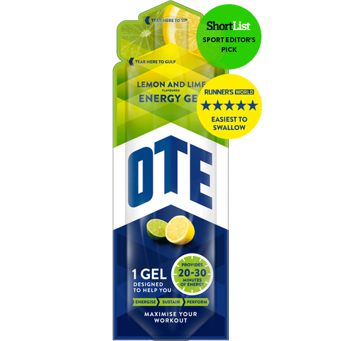 OTE Sports Energy Gel - Lemon & Lime