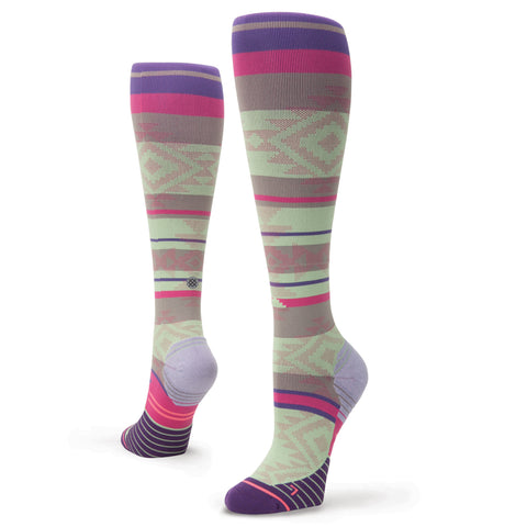 Stance Fusion Run Motivation Over the Calf Height Womens Socks