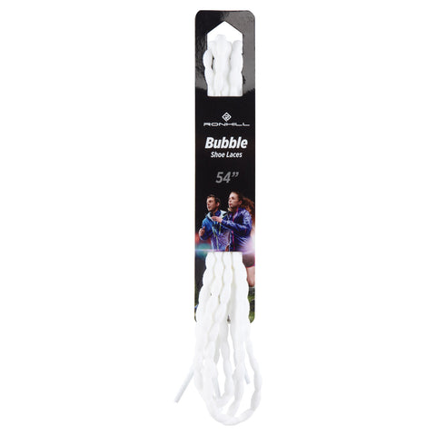 "Ronhill Bubble Laces 45"" (white)"
